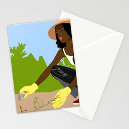 Greener Grass Stationery Cards