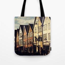 Bergen Harbour Tote Bag