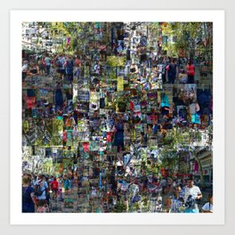 ...around four time effort, running no one or nor. Art Print