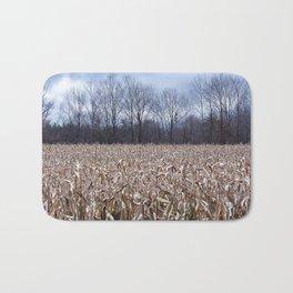 Field of Corn left Behind Bath Mat