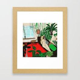 Home Alone Framed Art Print