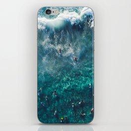 Surfing in the Ocean 2 iPhone Skin
