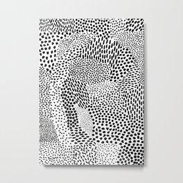 Graphic 80 Metal Print