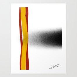 Swarm Art Print
