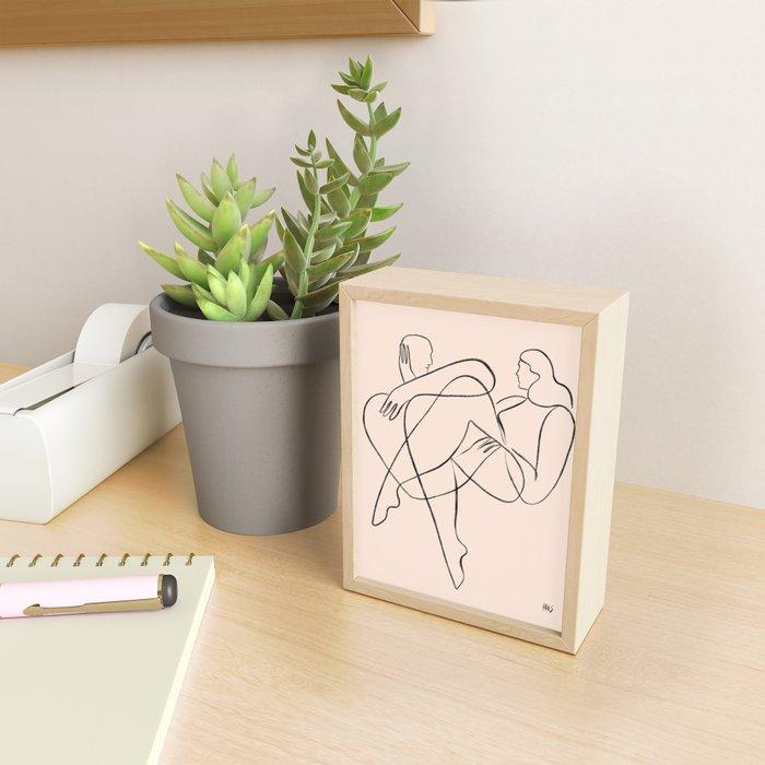 You are my favorite feeling Framed Mini Art Print