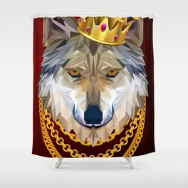The King of Wolves Shower Curtain