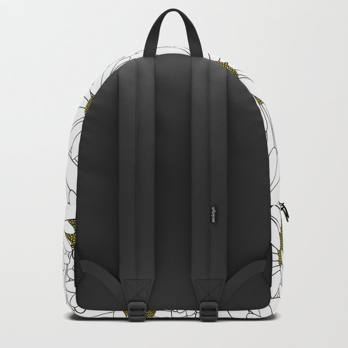 Daisy Yellow Backpack