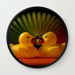 Rubber Duck Still Life II Wall Clock