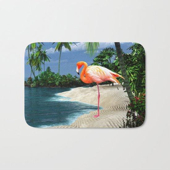 Flamingo Island Bath Mat
