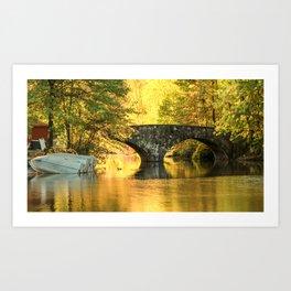 Clove Lake Park Art Print