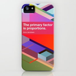 Proportions iPhone Case