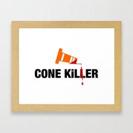 Cone Killer v2 HQvector Framed Art Print