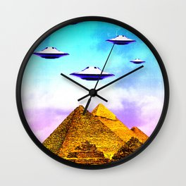 Aliens Built it Wall Clock