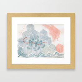 Abstract #5 Framed Art Print