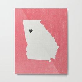 Georgia Love Metal Print