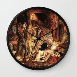 Demons attack!! Wall Clock