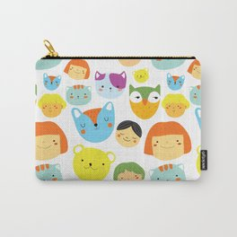 Kids & Animals Carry-All Pouch