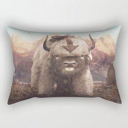 Appa in the Mountains Rectangular Pillow