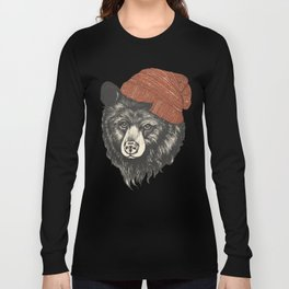 the bear Long Sleeve T-shirt