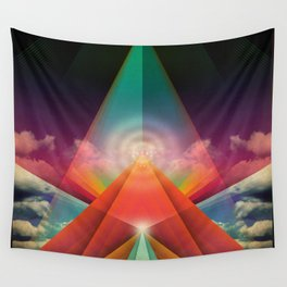 ∆ tune in Wall Tapestry