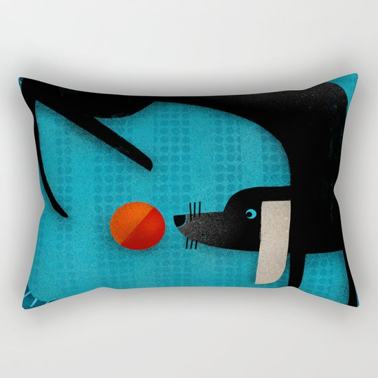 EYE ON THE BALL Rectangular Pillow
