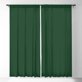 Simply Solid - Eden Green Blackout Curtain