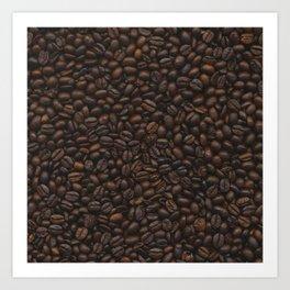 Coffee Addiction. Art Print