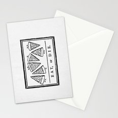 Eat, or Die Stationery Cards