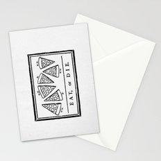 Eat, or Die Stationery Cards