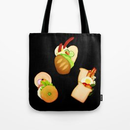 Bread and Sandwiches Tote Bag