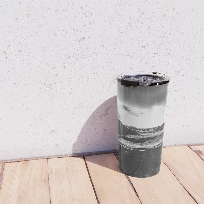 Ice giant - black and white landscape photography Travel Mug