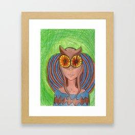 Owley!  Framed Art Print
