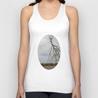 israel Tank Tops featuring Alian Tree at The Israel Museum Jerusalem by AntWoman
