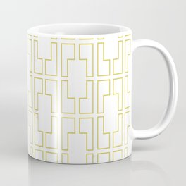 Simply Mid-Century in Mod Yellow Coffee Mug