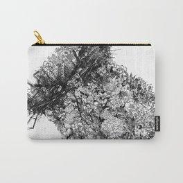nature sacrifice-black and white portrait Carry-All Pouch