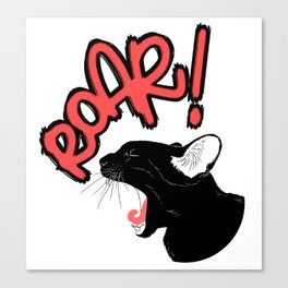 Roar! Canvas Print