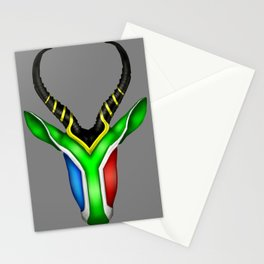 South African Springbok Stationery Cards
