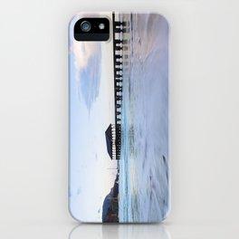 Hanalei Bay Pier at Sunrise iPhone Case