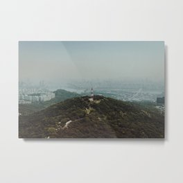 View From Namsan Tower Metal Print