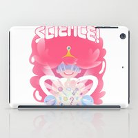 princess bubblegum iPad Cases featuring Princess Bubblegum: SCIENCE! by MortinfamiART
