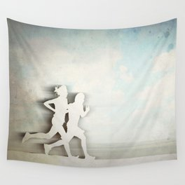 Runners Wall Tapestry