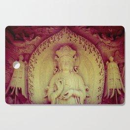 Fire Within. Hong Kong deity Cutting Board