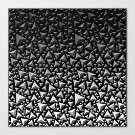 Spiky Triangles 2 Canvas Print