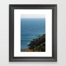 Sea landscape 1766 Framed Art Print