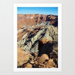 Close-up of Upheaval Dome, Utah Art Print