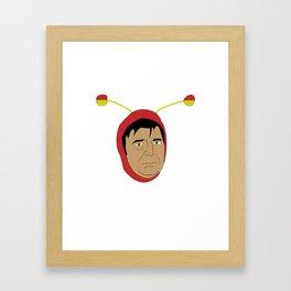 Chapulin Framed Art Print
