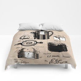 patent China Coffee pot - Blanke - 1909 Comforters