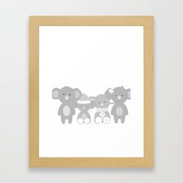 Koala bears Framed Art Print