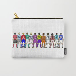 Soccer Backs Carry-All Pouch