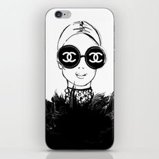 Coco CC iPhone Skin